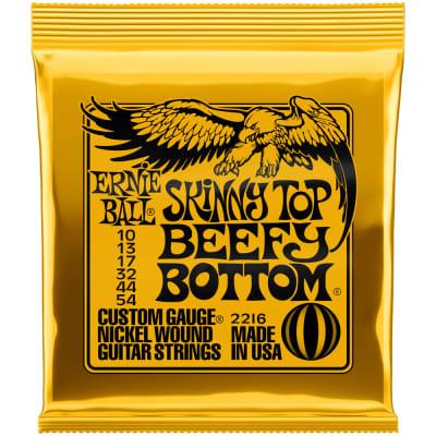 Ernie Ball Skinny Top/Beefy Bottom Slinky Nickel Electric 2216 10-54
