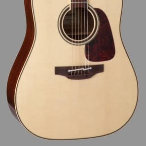 Takamine Pro Series 4 P4DC Dreadnought Body Acoustic Electric Guitar with Case for sale