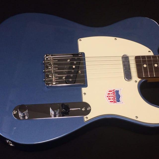 Fender Japan CLASSIC 60S TELE US PICKUPS SN:**5453  2017 OLD LAKE PLACID BLUE image