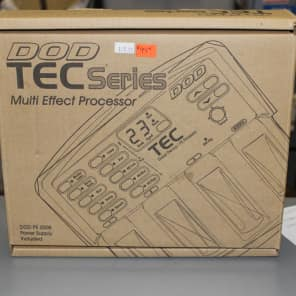 DOD Tec series multi effects processor Bass tec 1990s Black/Tan for sale