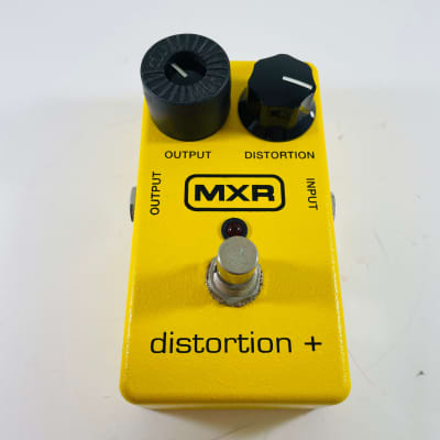 MXR M-104 Distortion + 2010s Yellow *Sustainably Shipped*