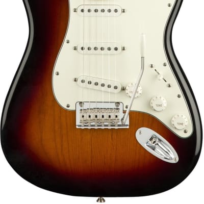 Fender Player Stratocaster (Maple/3-Tone Sunburst) - Classic Sound with Crystal Clear Articulation! for sale