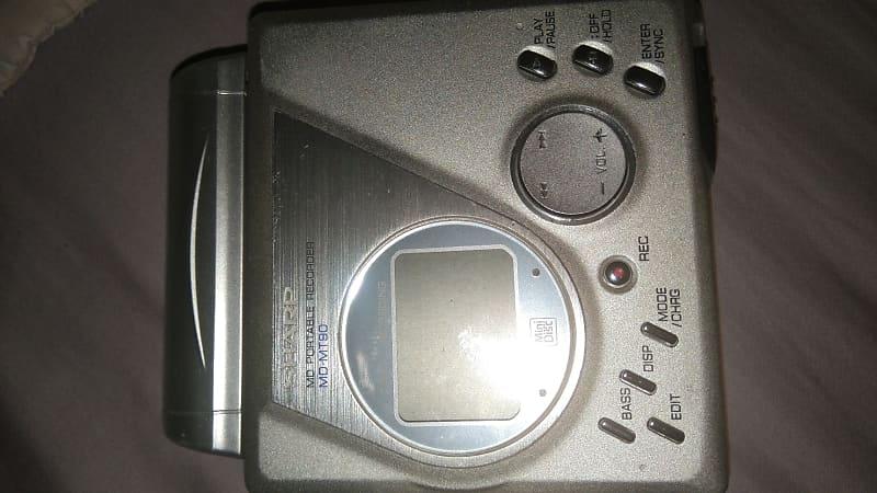 Sharp MD-MT 90 H Lecteur MD Portable MD Standard