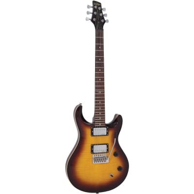Vintage VRS150-TSB Rock Series Tobacco Sunburst