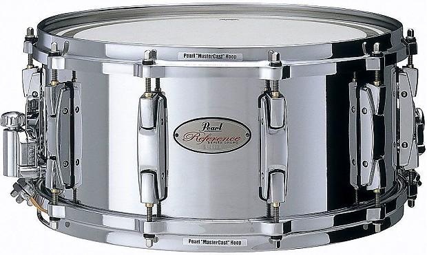 pearl reference 14x6 5 cast steel snare drum reverb. Black Bedroom Furniture Sets. Home Design Ideas