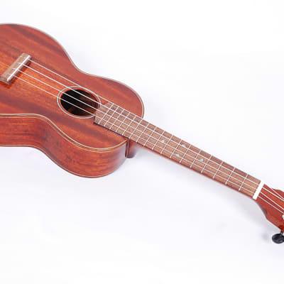 Eastman EU3C Figured Mahogany Concert Ukulele Uke From LA Guitar Sales W/ Case for sale