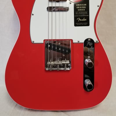 Fender American Original '60s Telecaster Electric Guitar, Rosewood Fingerboard, Fiesta Red for sale