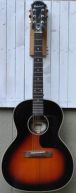 epiphone el 00 2011 vintage sunburst acoustic parlor guitar reverb. Black Bedroom Furniture Sets. Home Design Ideas