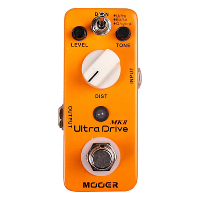 Mooer Ultra Drive MkII Distortion Effect Pedal image