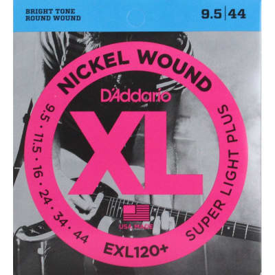 D´Addario EXL120+ 095-44 Electric Strings