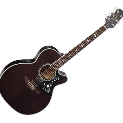 Takamine GN75CETBK NEX Cutaway Acoustic/Electric Guitar - Trans Black for sale