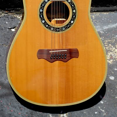 Bozo 80S/12 12-string  1979 super ornate Jumbo Top of the Line ! for sale