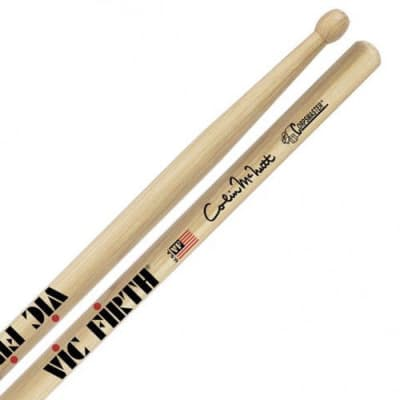 Vic Firth Corpsmaster Colin McNutt Signature Wood Tip Drumsticks (Pair) SCM