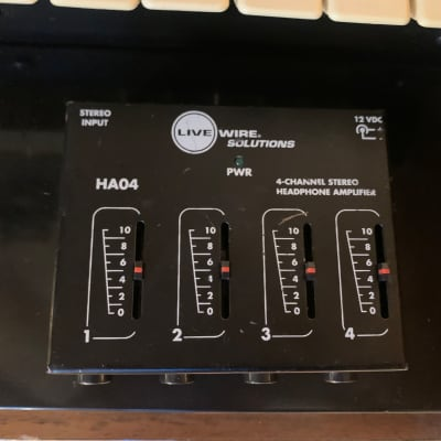 Live Wire HA04 Headphone Amplifier