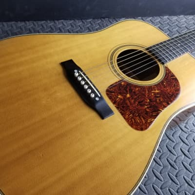 AMAZING VINTAGE 1977 J.W. GALLAGHER DOC WATSON HERRINGBONE BONE TONE SWEET LOUD RESONANT for sale