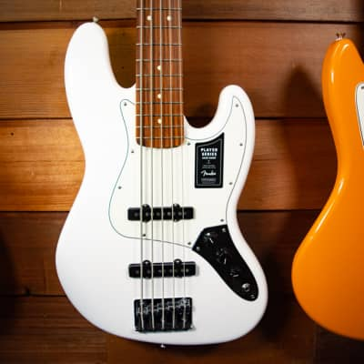 Fender Player Jazz Bass V - Polar White w/ Pau Ferro Fingerboard for sale