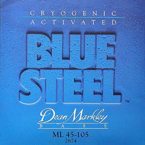 Dean Markley Blue Steel Electric Bass Strings, 45-105, 2674, Medium Light