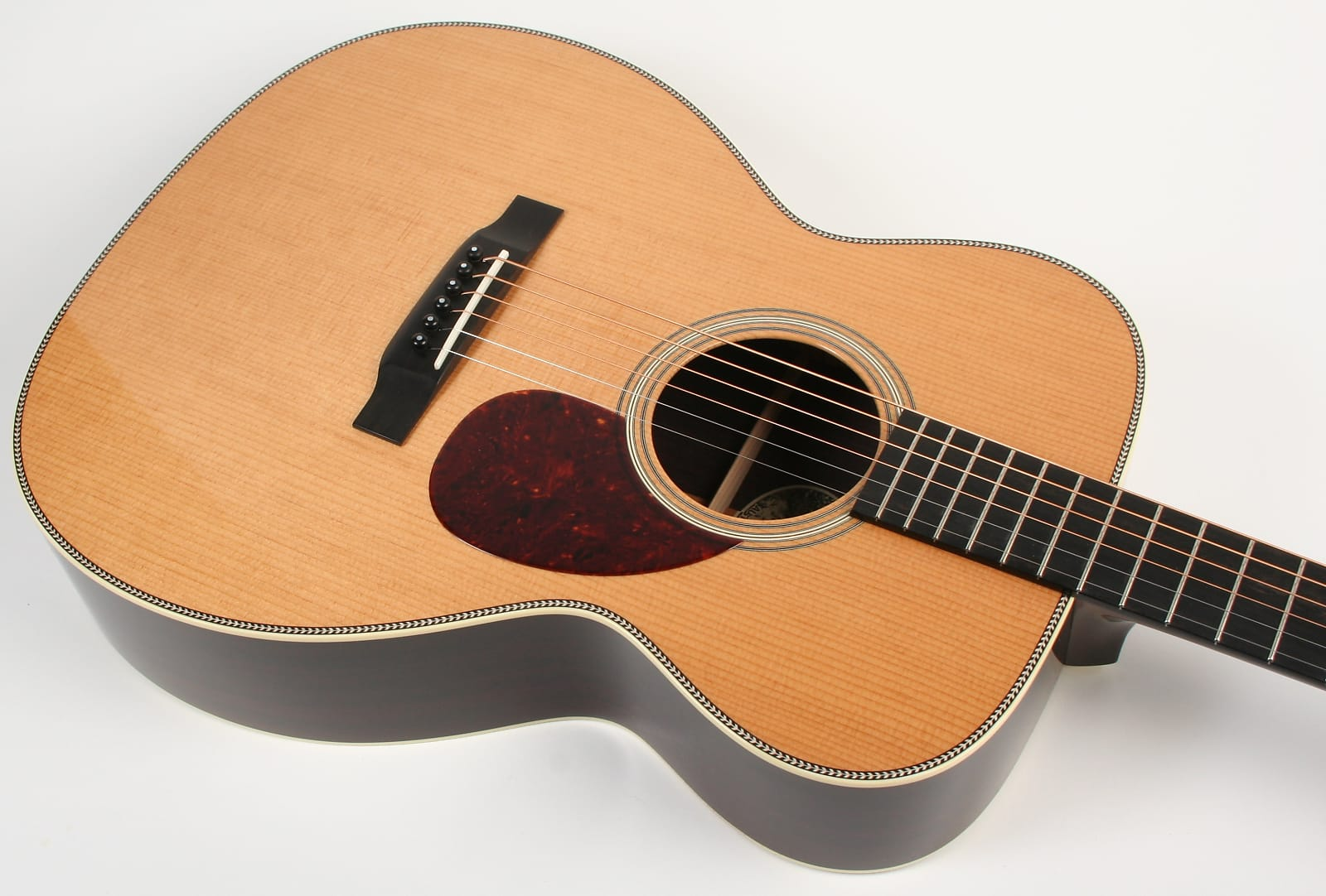 Collings Om2h Orchestra Model Acoustic Guitar 1 11 16 Quot Nut
