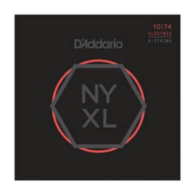 D'Addario NYXL1074 Nickel Wound 8-String Electric Set