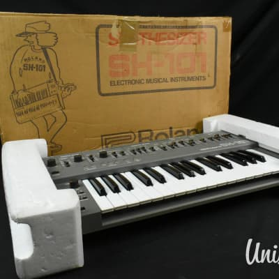 Roland SH-101 Monophonic Synthesizer W/ Outer Box [Excellent]