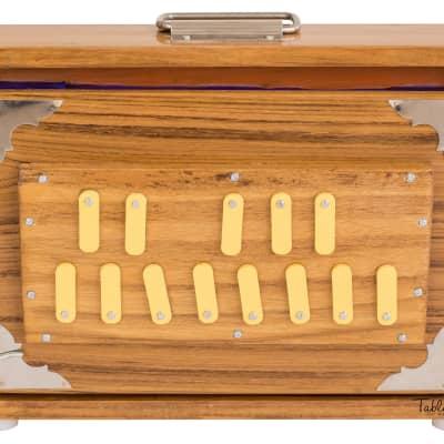 Maharaja Musicals Shruti Box - Teak Wood - 13 Drones ABC for sale