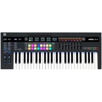 Novation 61 SL MK3 USB MIDI Keyboard Controller, 61-Key