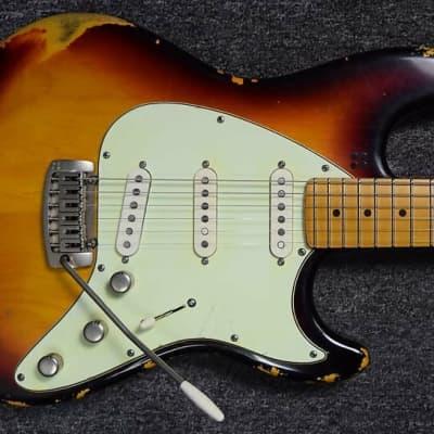Sandberg California ST II 6-String Guitar, Hardcore-Aged 3-Tone SB/Maple *7.9LBS *IN STOCK