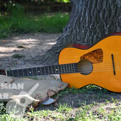 Cremona 533 - vintage parlor travel acoustic guitar, beautiful condition,1974, Czechoslovakia (Luby) for sale
