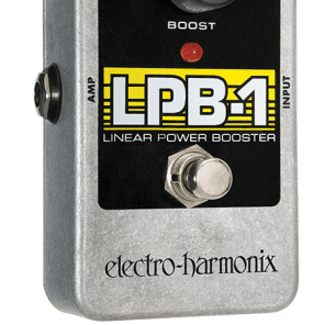 New Electro-Harmonix EHX LPB-1 Linear Power Booster Preamp Guitar Pedal!