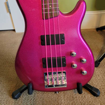 Daisy Rock Rock Candy Bass 2014 Pink Sparkleflake for sale