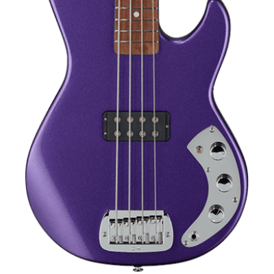 G&L USA CLF RESEARCH L-1000 Bass Royal Purple Basswood Body Rosewood Fingerboard for sale