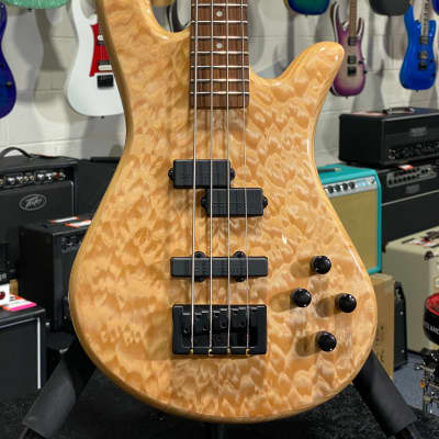 Spector Legend 4 Classic Natural Gloss Bass Guitar w/ Free Shipping, Auth Dealer for sale