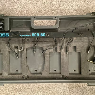 Boss BCB-60 Pedal Board/Carrying Case for sale