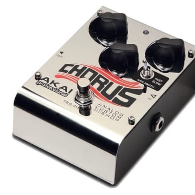 Akai ANALOGCHORUS Chorus Stomp Box Pedal  - NEW! for sale