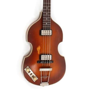 Hofner Violin Bass 500/1 63 Relic Lefthand Vintage Finish E-Bass