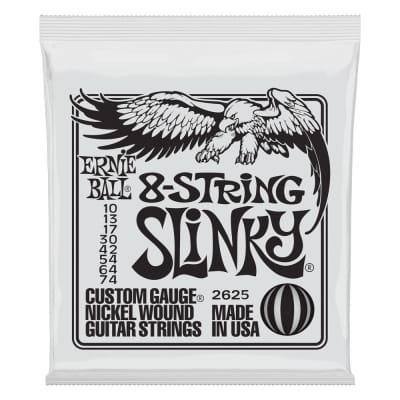 Ernie Ball 2625 Slinky 8-String Nickel Wound Electric Guitar Strings