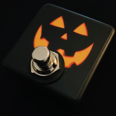 Saturnworks Soft Touch Tap Tempo Pedal for Boss, EHX, & More - Limited Run Graphic + Switchcraft Jack image