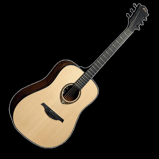 lag tse 701d tramontane snakewood dreadnought acoustic guitar reverb. Black Bedroom Furniture Sets. Home Design Ideas