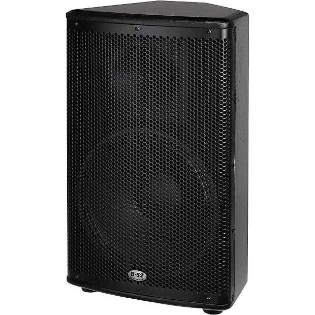 b 52 matrix 2500 3 piece active speaker system regular reverb. Black Bedroom Furniture Sets. Home Design Ideas