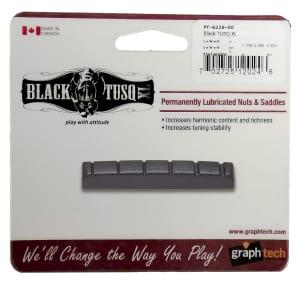 "Graph Tech PT-6226-00 BLACK TUSQ XL 1-3/8"" E-to-E Slotted Guitar Nut"
