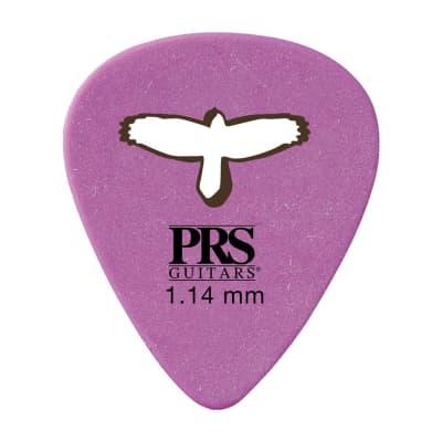 PRS Delrin Punch Picks Purple 1.14mm 4 Pack (48) Bundle