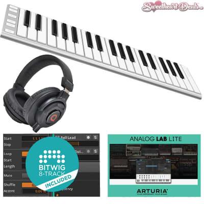 CME Xkey 37 LE USB MIDI Keyboard Laptop Audio Recording Bundle Bitwig + Arturia