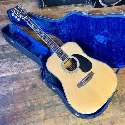 Morris W-40 dreadnought acoustic guitar Rosewood original vintage Martin d-41 killer d-45 mij japan Fuji gen matsumoku for sale