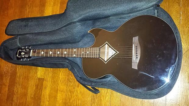 Ibanez AES20E Acoustic Electric 2005 Black