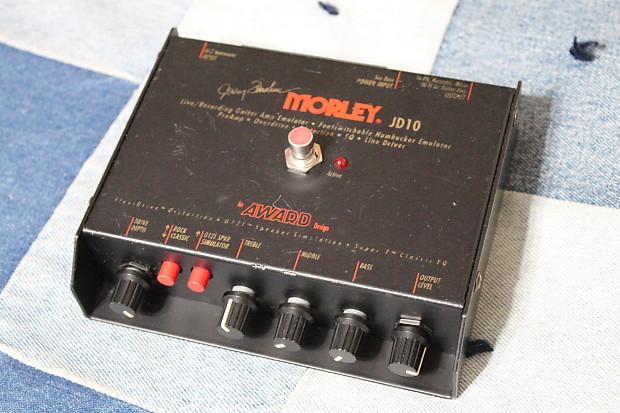Morley JD-10 Overdrive Distortion Preamp Pedal DI Box Amp Emulator Line  Driver EQ