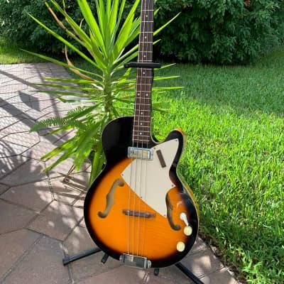 Harmony H22 Reissue Bass Sunburst for sale