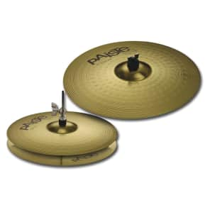 "Paiste 102 Brass Essential Set 14""/18"" Cymbal Pack"