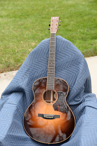 Bourgeois Custom Small Jumbo Sj Db Signature Ss Acoustic