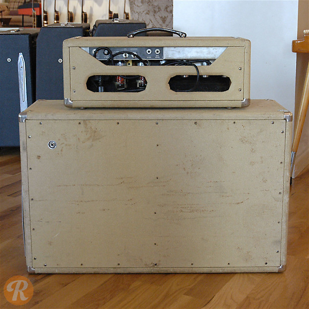 Fender Bassman Head and Cabinet 1962 | Reverb
