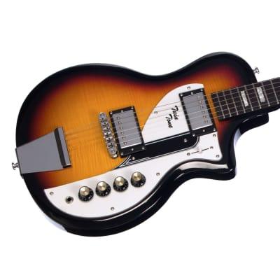 Airline Guitars Twin Tone Duke Robillard Signature - Sunburst - Flame Top Electric Guitar - NEW!
